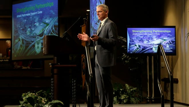 Marquette University President Michael Lovell wants to organize a major conference on trauma in late September.