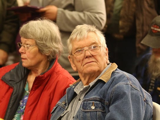 Linda and Jim Ward, parents of Harney County, Ore.