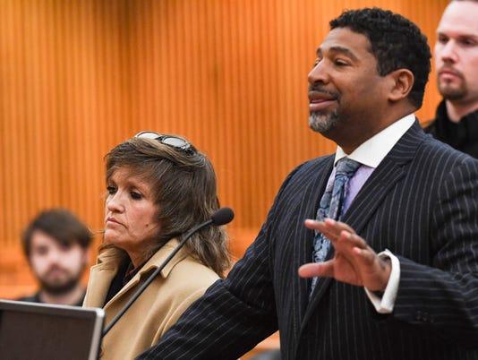 Debra Sheridan in court