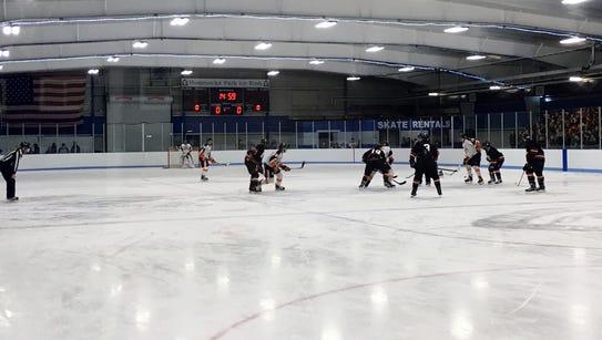 Hommocks Park Ice Rink in Mamaroneck.