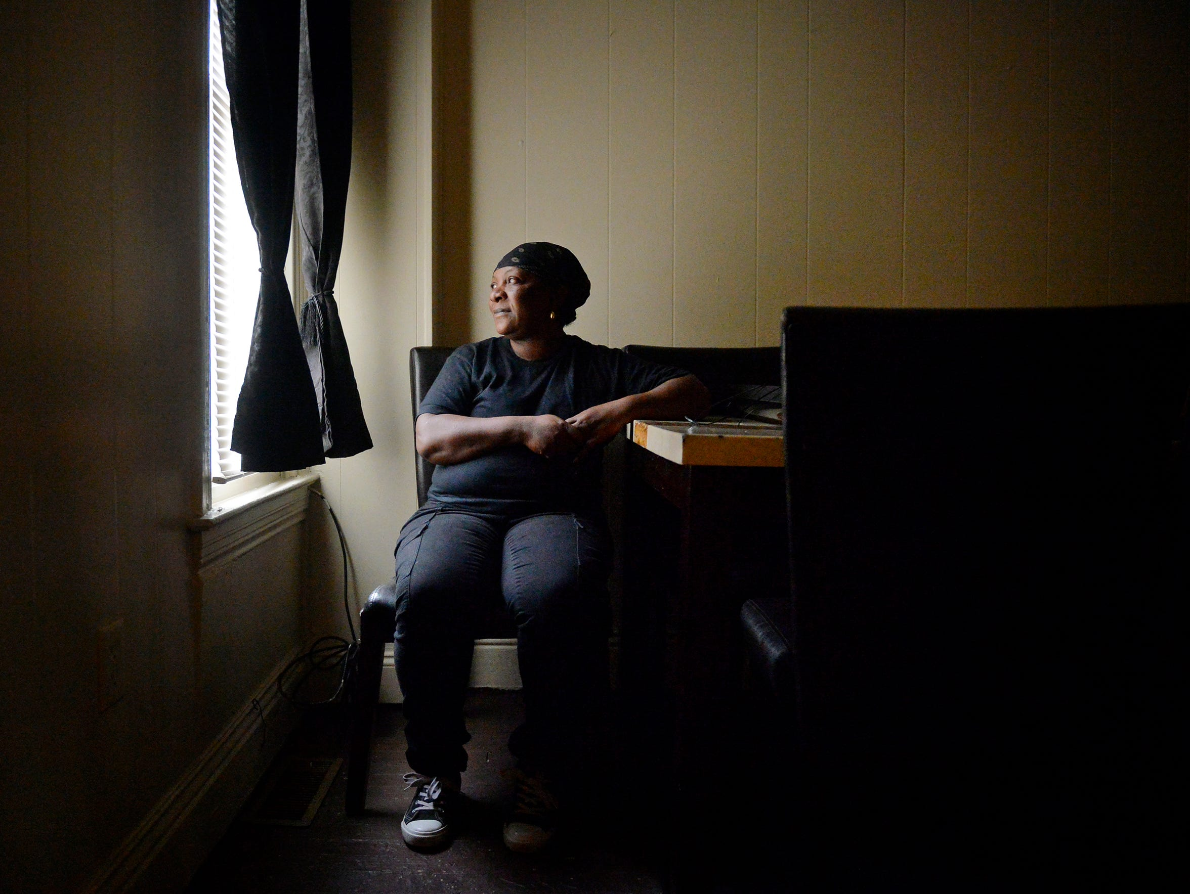 Barbara Milligan, seen in her York County home in January,