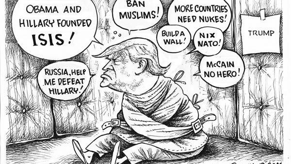 CARTOON: Trump Talking