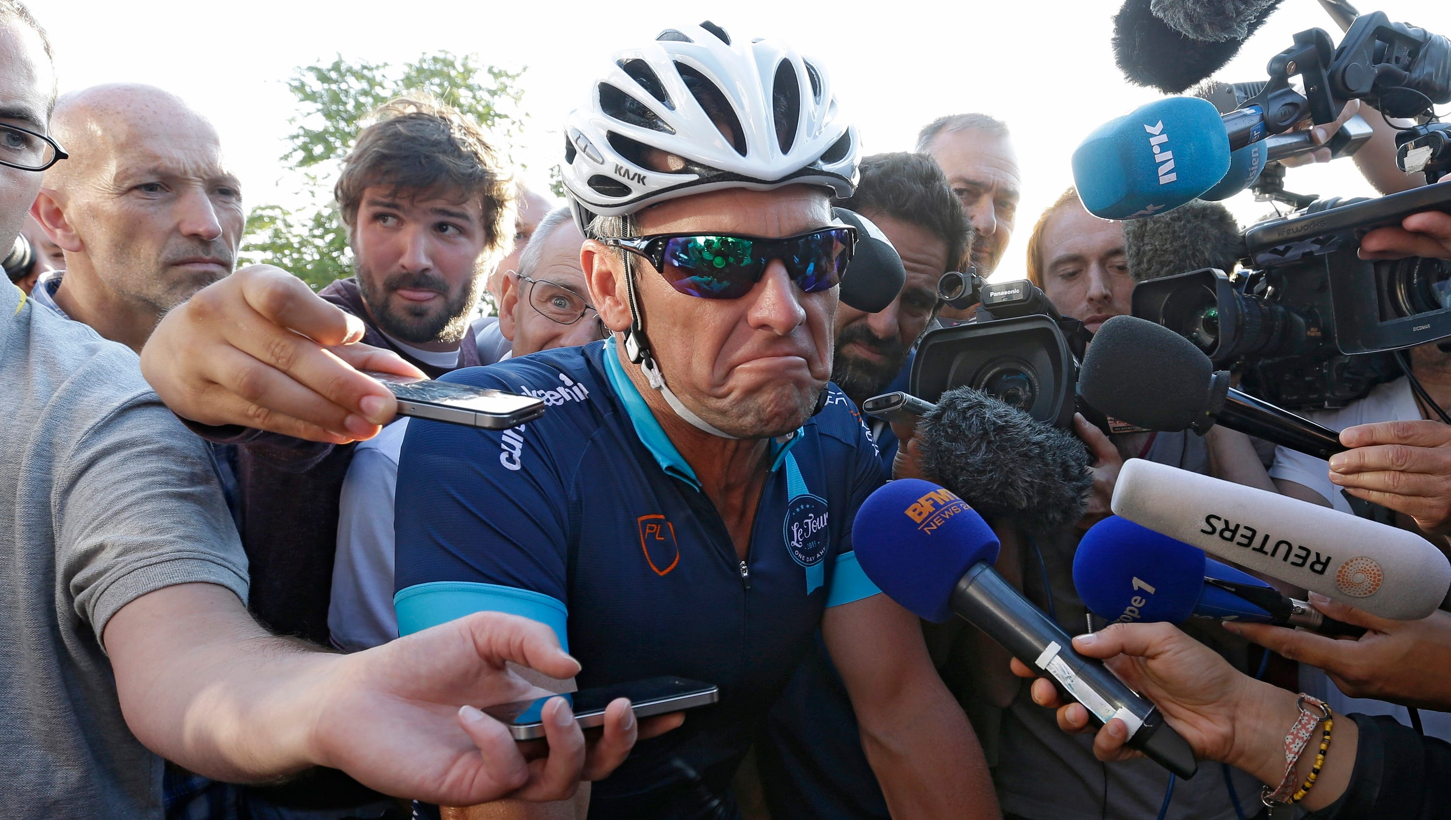 Lance Armstrong Testimony Revealed In Federal Case