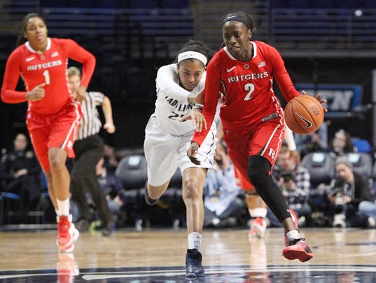 Rutgers women's hoops opens with win behind Kahleah Copper