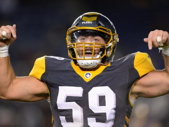 AAF: Atlanta Legends at San Diego Fleet