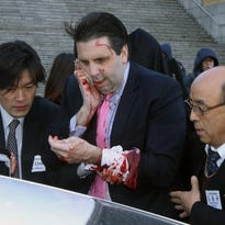 U.S. ambassador to South Korea attacked in Seoul