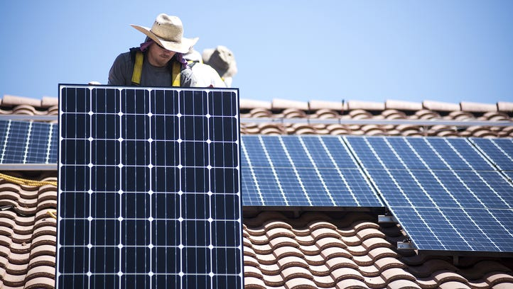 A study by APS estimates that solar customers pays