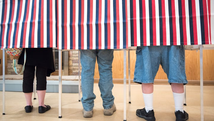 Constituents of the borough of Mercersburg voted in