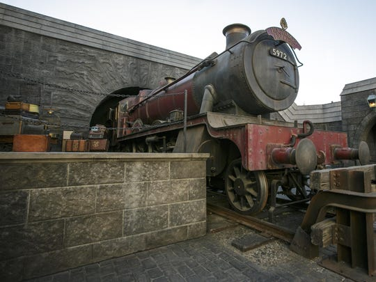Catch the Hogwarts Express in the quaint village of Hogsmeade in The Wizarding World of Harry Potter at Universal Studios Hollywood.