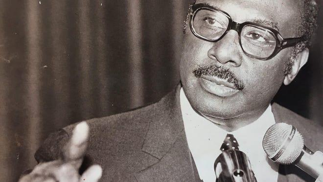 Edward M. McIntyre, Augusta's first Black mayor.