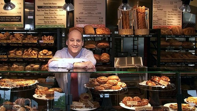 Panera Bread Co. CEO Ron Shaich, seen in 2002, says the restaurant chain won't change much after being sold. Shaich said he plans to stay on as chief executive after the sale.