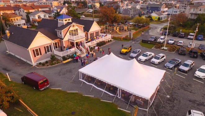 The Dewey  Beach Lions Club's headquarters on McKinley Street features state-of-the-art amenities.