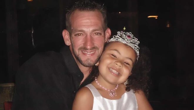 Jamie Conklin, 35, of Spruce Drive, Stony Point died Sunday night when his Harley Davidson collided with a Nissan Altima on Washburns Lane in Stony Point. Jamie is photographed here with his niece, Crystal Conklin.