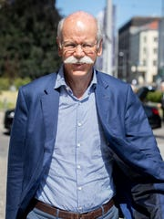 Dieter Zetsche, CEO of German car maker Daimler arrives