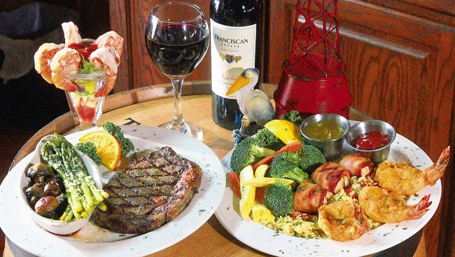 With two locations at 1780 N. Lee Treviño and 130 Shadow Mountain, Pelican's Steak & Seafood Restaurant offers a delicious variety of surf and turf options.