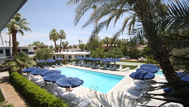 Holiday House opens as Palm Springs' newest boutique hotel. These are photos of their location Palm Springs taken on June 8, 2017.