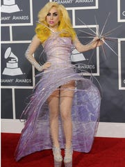 Lady Gaga went Jetsons for the the 52nd Grammys in