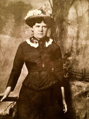 """Maryann McFadden's newest novel, """"The Cemetery Keeper's Wife,""""is based on the April 1886 New Jersey murder of Tillie (Matilda) Smith, shown above in her formal portrait."""