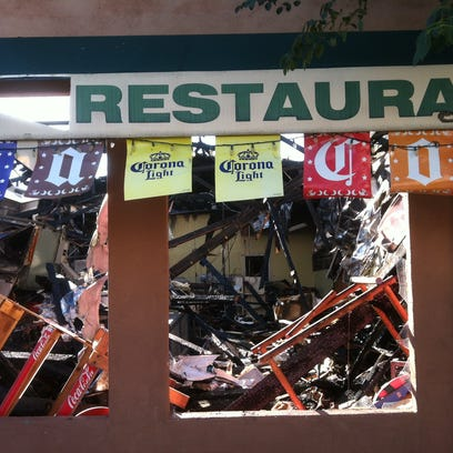 The fire at La Tolteca Mexican Foods caused extensive