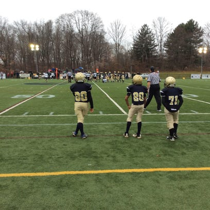 The St. Cecilia's Golden Knights PeeWee Football Team