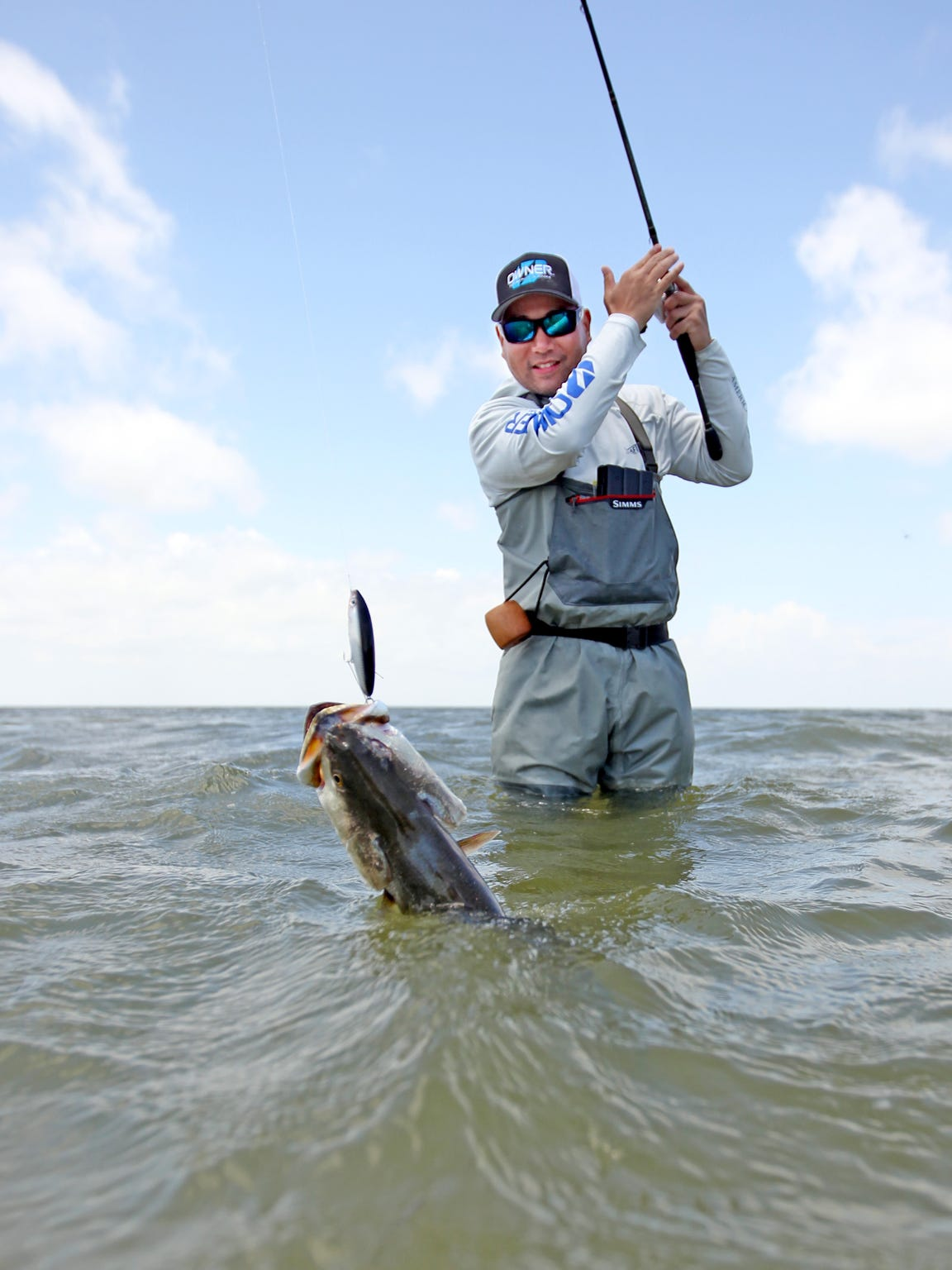 If you'd like to try wade-fishing, ask prospective guides whether the waters he fishes are conducive to wading and whether they are willing to do it.