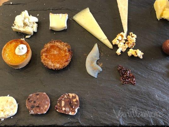 Vanillamore cheese plate