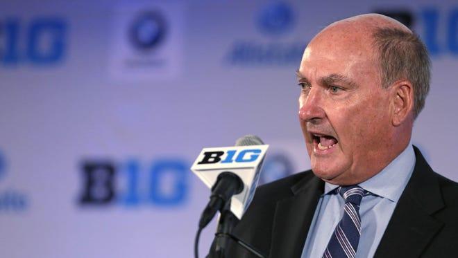 Big Ten Conference commissioner Jim Delany