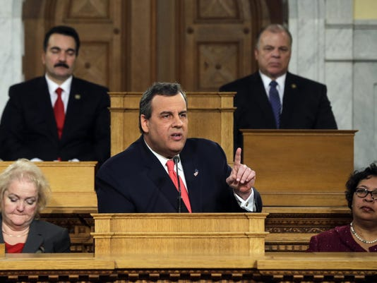 Vincent Prieto, Stephen M. Sweeney, Chris Christie