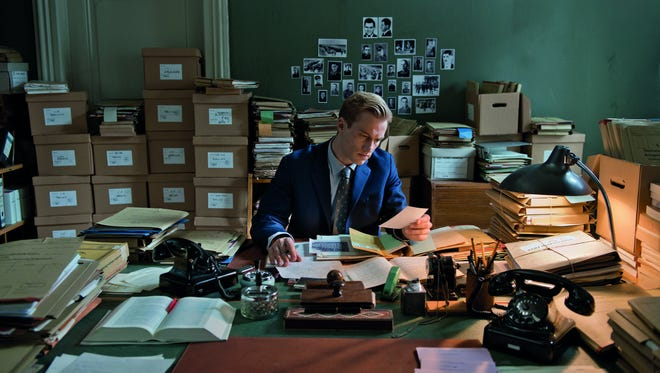 """A scene from """"Labyrinth of Lies,"""" a German film that follows an ambitious young prosecutor's obsession to bring former Nazis to justice."""