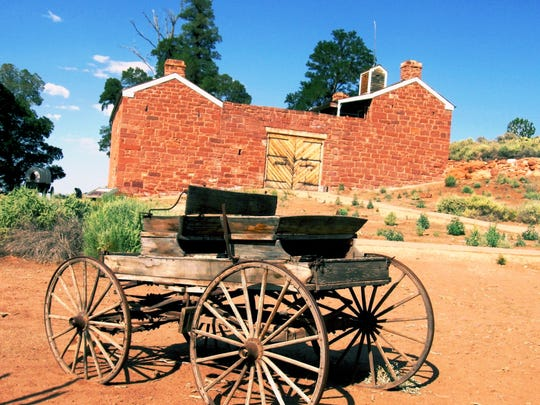 Guided tours of Winsor Castle and exhibits about Kaibab Paiutes and Mormon settlers are available year-round at Pipe Spring National Monument in Fredonia.