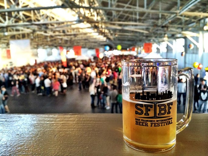 There 39 s a beer event for every day of may for Craft beer san francisco