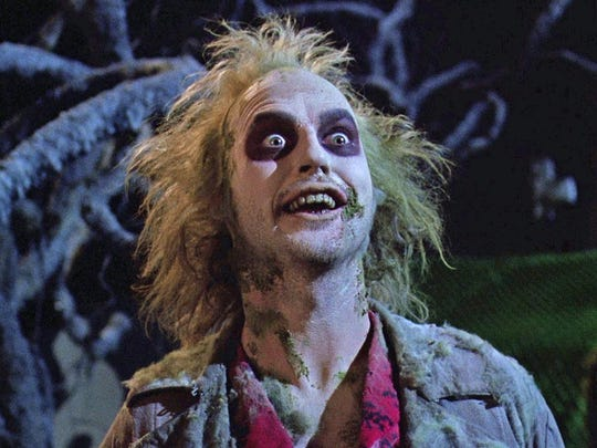 "Michael Keaton is back in the 1988 comedy ""Beetlejuice."""