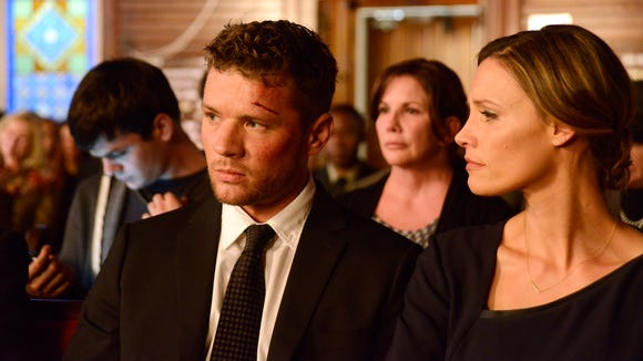 "Ryan Phillippe in a scene from Sunday's ""Secrets and Lies"" on ABC."