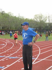 Wakulla track and cross country coach Paul Hoover
