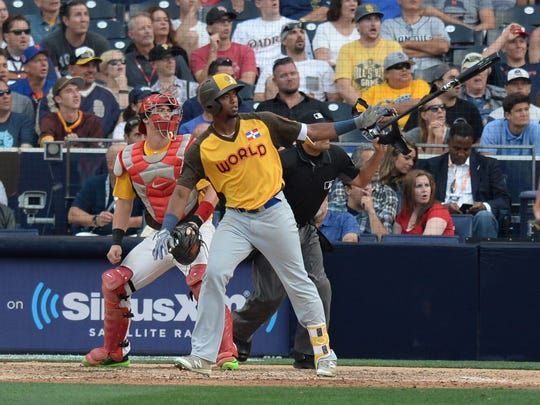 Eloy Jimenez made the Futures Team in 2016.