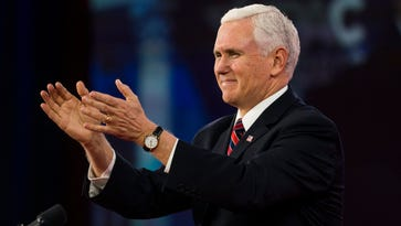 '#Winning': Mike Pence hails NFL's new anthem policy as a victory for Donald Trump