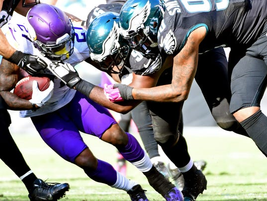 Vikings, Eagles Square Off For NFC Title, And Familiarity May Breed Contempt