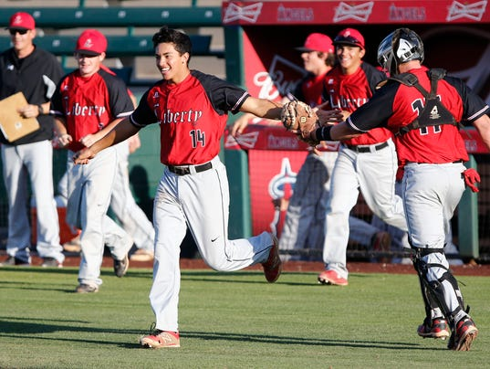 Peoria Liberty baseball team