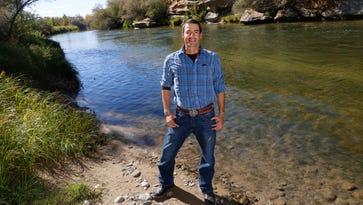 Footage for new film shot along San Juan River