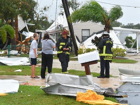 Hurricane Irma tornado in Palm Bay