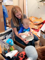 On his fourth birthday, Beckett Roerdink and his mother