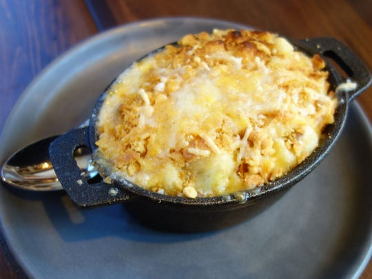 Cate's mac and cheese, a favorite of Labina Hawks Maxwell.
