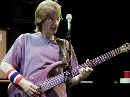Phil Lesh, pictured in 2002 at PNC Bank Arts Center