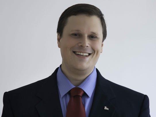 Dan Livingston, the Democratic candidate running for