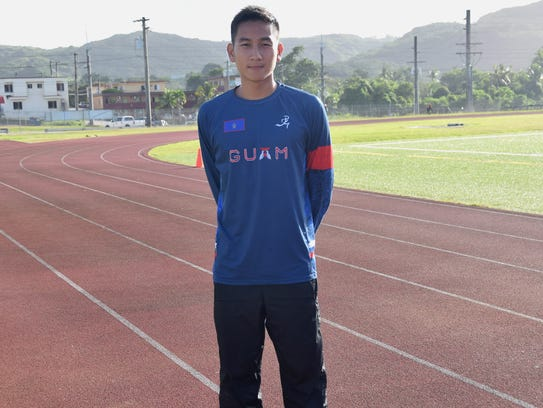 Former Olympian and team coach Joshua Ilustre will accompany the track and field athletes representing Guam at the X Pacific Mini Games in Port Vila, Vanuatu.