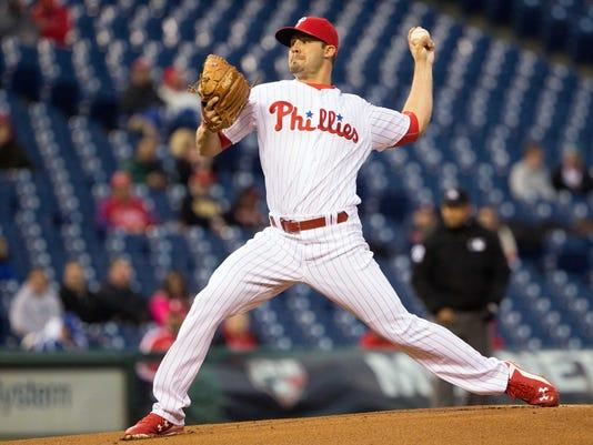 MLB: Cleveland Indians at Philadelphia Phillies