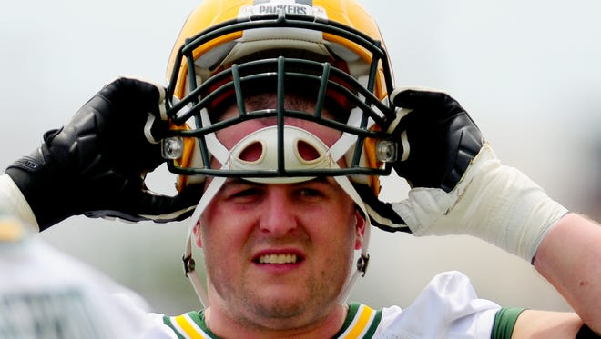 Green Bay Packers offensive lineman Don Barclay.