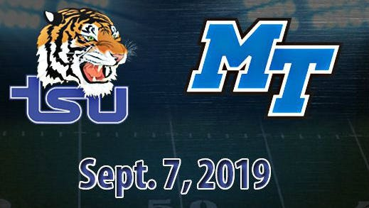 Tennessee State and Middle Tennessee State will renew their football series in 2019.