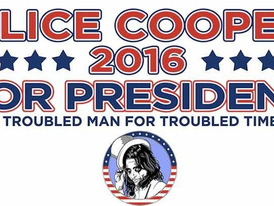 Alice Cooper bumper sticker