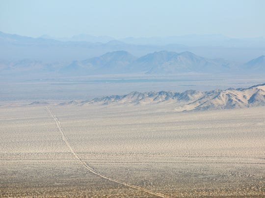 The Mojave Desert near Mojave National Preserve.